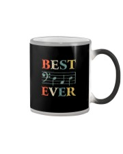 BEST MUSIC NOTES DAD EVER Color Changing Mug thumbnail