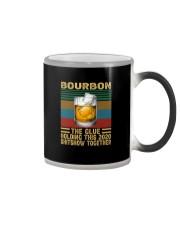 BOURBON THE GLUE HOLDING THIS 2020 VINTAGE Color Changing Mug thumbnail