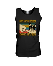 BEST BOSTON TERRIER DAD EVER Unisex Tank thumbnail