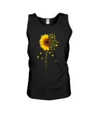 BE HAPPY WEED SUNFLOWER Unisex Tank thumbnail