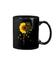 BE HAPPY WEED SUNFLOWER Mug thumbnail