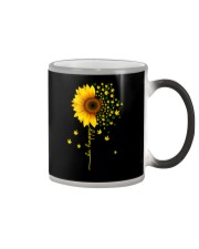 BE HAPPY WEED SUNFLOWER Color Changing Mug thumbnail