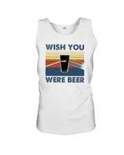 WISH YOU WERE BEER VINTAGE Unisex Tank thumbnail