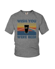 WISH YOU WERE BEER VINTAGE Youth T-Shirt thumbnail