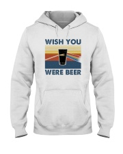 WISH YOU WERE BEER VINTAGE Hooded Sweatshirt thumbnail