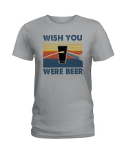 WISH YOU WERE BEER VINTAGE Ladies T-Shirt thumbnail