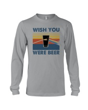 WISH YOU WERE BEER VINTAGE Long Sleeve Tee thumbnail