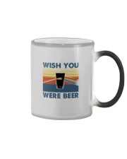 WISH YOU WERE BEER VINTAGE Color Changing Mug thumbnail