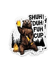 SHUH DUH FUH CUP Sticker - 4 pack (Vertical) front