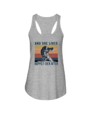 AND SHE LIVED HAPILY EVER AFTER Ladies Flowy Tank thumbnail