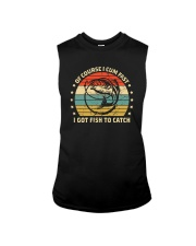 I GOT FISH TO CATCH Sleeveless Tee tile