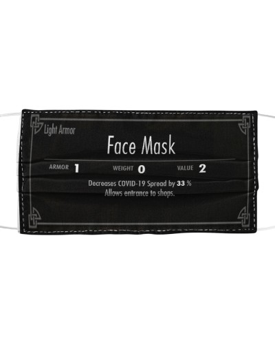 RPG Style Face Mask