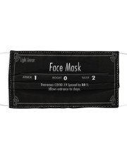 RPG Style Face Mask  Cloth face mask front