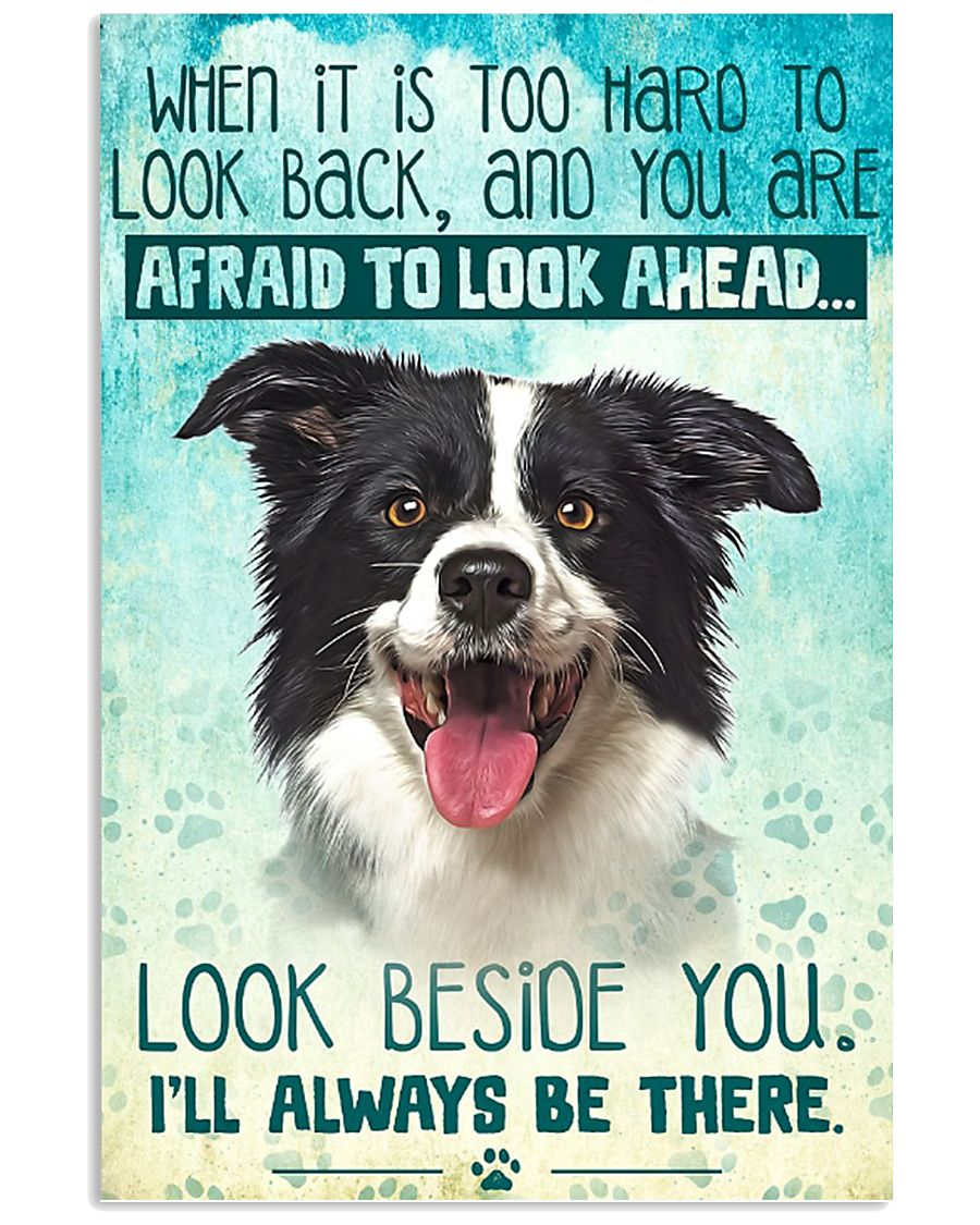 Border Collie - Beside You Vertical Poster 11x17 Poster