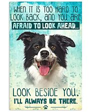Border Collie - Beside You Vertical Poster 11x17 Poster front