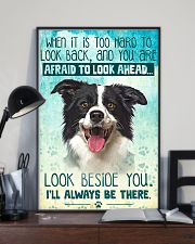 Border Collie - Beside You Vertical Poster 11x17 Poster lifestyle-poster-2