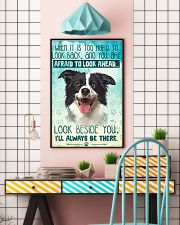 Border Collie - Beside You Vertical Poster 11x17 Poster lifestyle-poster-6