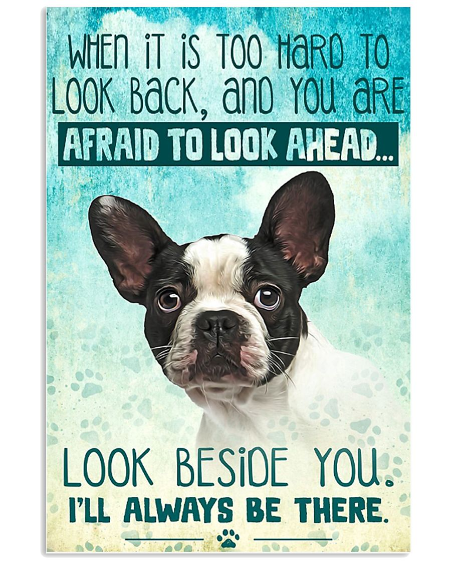 French Bulldog-03 - Beside You Vertical Poster 11x17 Poster