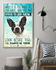 French Bulldog-03 - Beside You Vertical Poster 11x17 Poster lifestyle-poster-1