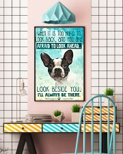 French Bulldog-03 - Beside You Vertical Poster 11x17 Poster lifestyle-poster-6