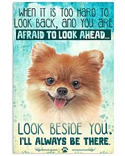 Pomeranian - Beside You Vertical Poster 11x17 Poster front