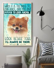 Pomeranian - Beside You Vertical Poster 11x17 Poster lifestyle-poster-1