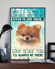 Pomeranian - Beside You Vertical Poster 11x17 Poster lifestyle-poster-2