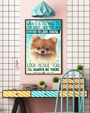 Pomeranian - Beside You Vertical Poster 11x17 Poster lifestyle-poster-6