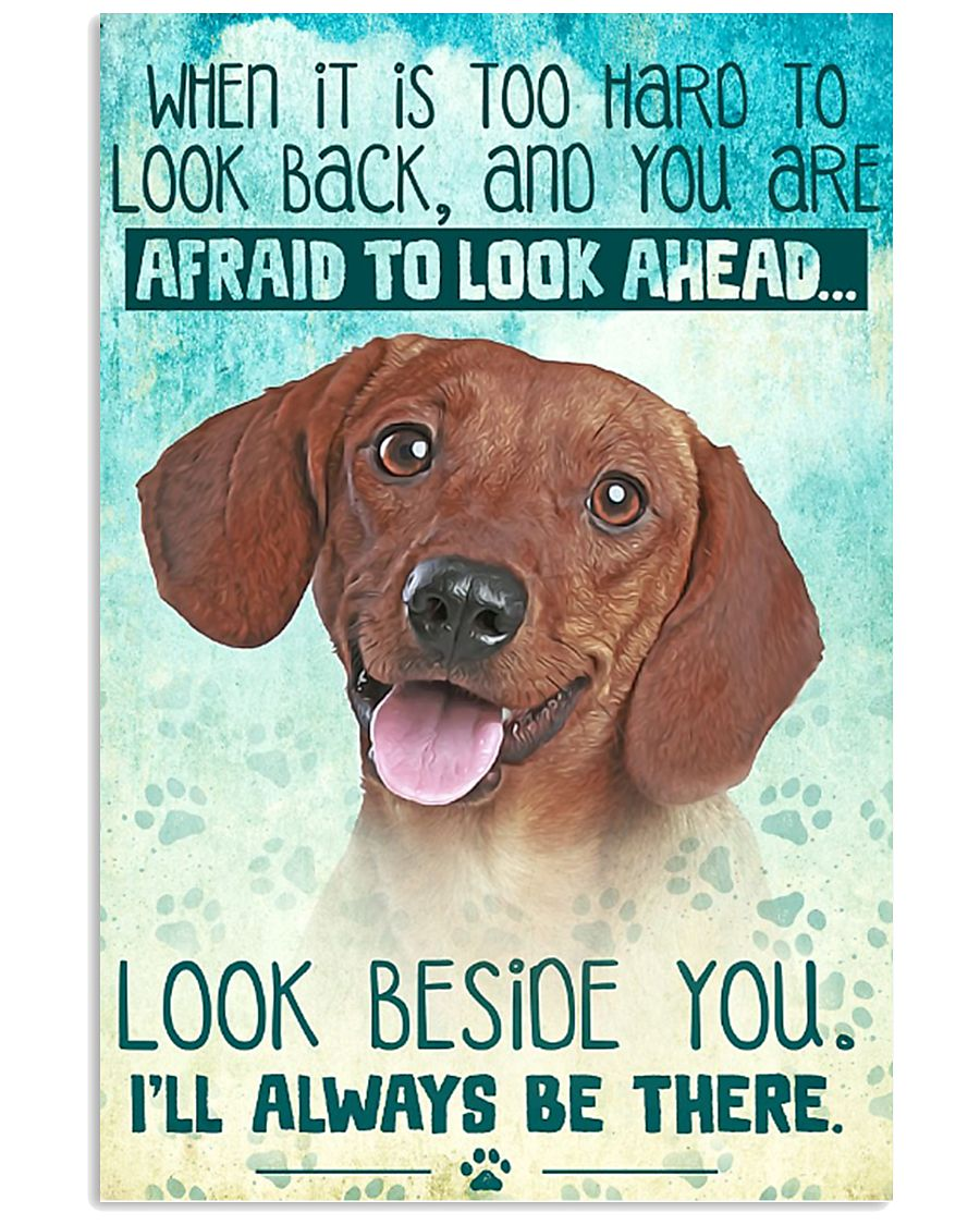 Dachshund-02 - Beside You Vertical Poster 11x17 Poster