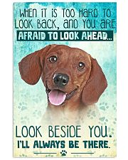 Dachshund-02 - Beside You Vertical Poster 11x17 Poster front