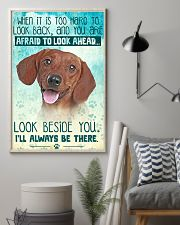 Dachshund-02 - Beside You Vertical Poster 11x17 Poster lifestyle-poster-1
