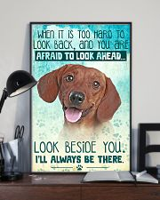 Dachshund-02 - Beside You Vertical Poster 11x17 Poster lifestyle-poster-2