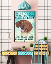 Dachshund-02 - Beside You Vertical Poster 11x17 Poster lifestyle-poster-6