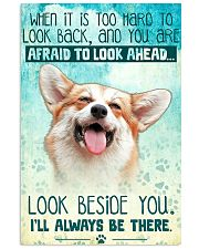 Corgi - Beside You Vertical Poster 11x17 Poster front