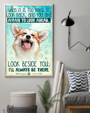 Corgi - Beside You Vertical Poster 11x17 Poster lifestyle-poster-1