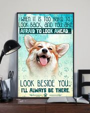 Corgi - Beside You Vertical Poster 11x17 Poster lifestyle-poster-2