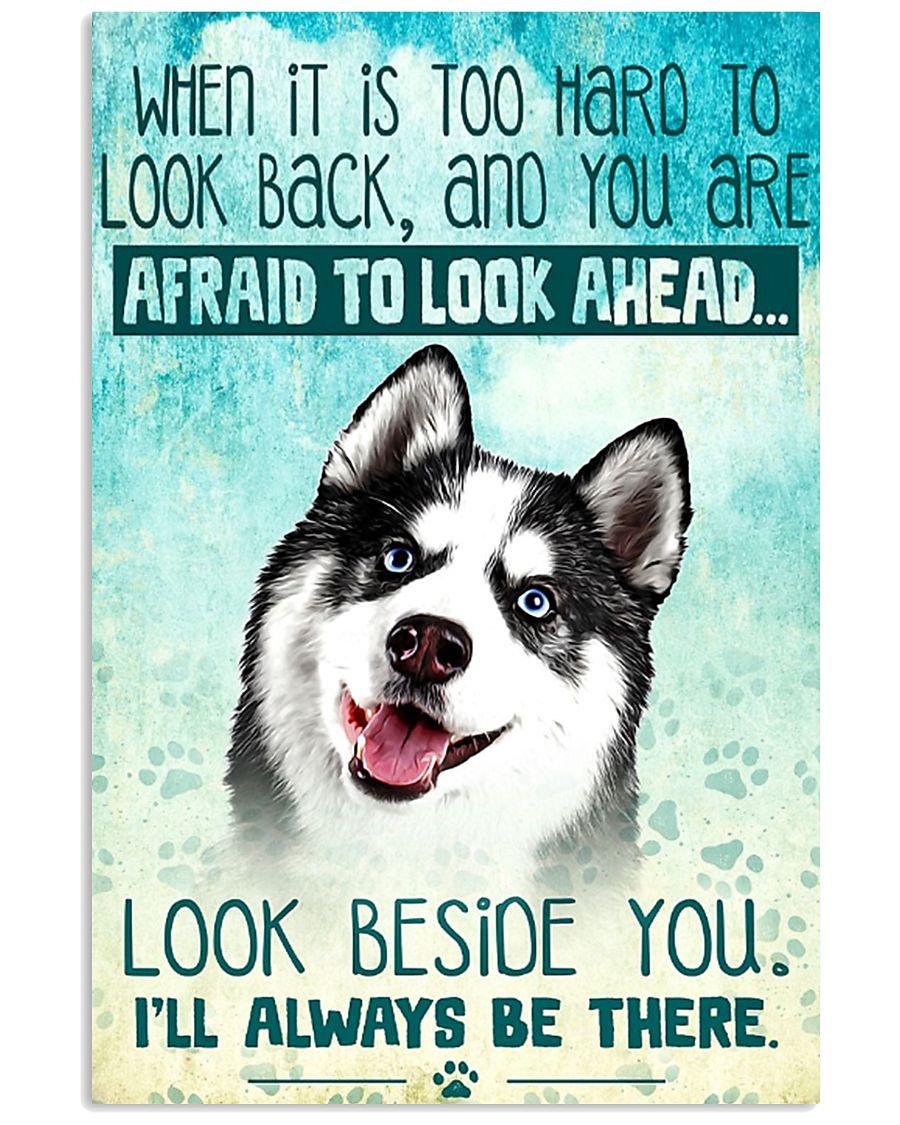 Siberian Husky Filter 11x17 Poster