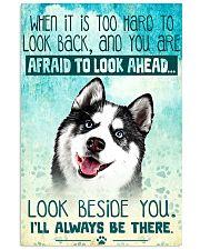 Siberian Husky Filter 11x17 Poster front