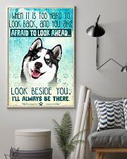Siberian Husky Filter 11x17 Poster lifestyle-poster-1