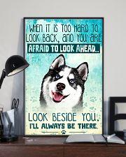 Siberian Husky Filter 11x17 Poster lifestyle-poster-2