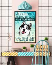 Siberian Husky Filter 11x17 Poster lifestyle-poster-6