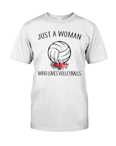 Just A Woman - Who Loves Volleyballs