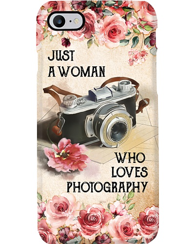 Photography Camera Flower Phonecase