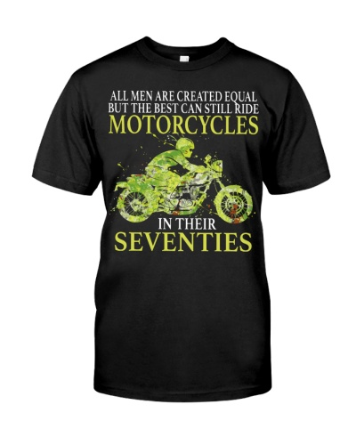 Motorcycle All Men Are Created Equal