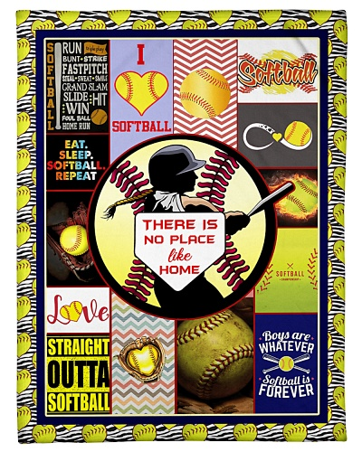 Softball Funny There Is No Place Graphic Design
