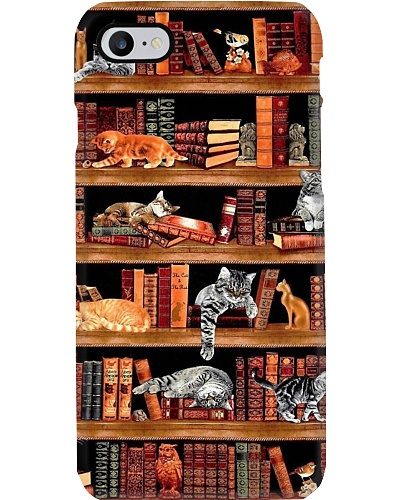Book Shelves Phone Case