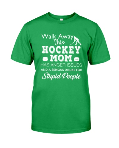 Hockey Mom Walk Away