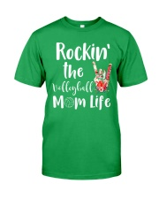 Volleyball Mom Classic T-Shirt front