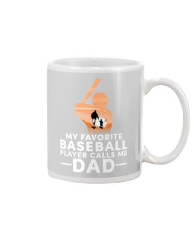 Baseball My Favorite Player Calls Me Dad