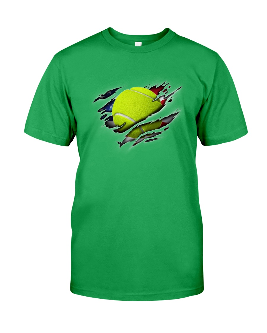 Tennis Inside Flag Classic T-Shirt